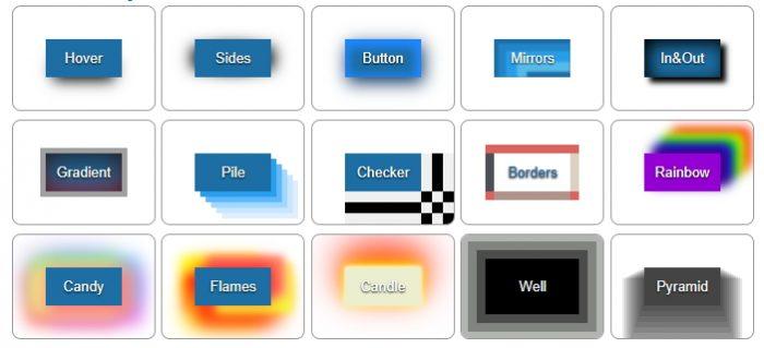 CSS . Эффекты тени